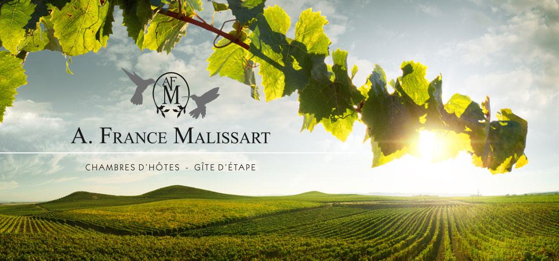 chambres d'hôtes malissart annie-france, au cœur du vignoble
